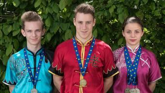 Gleich fünf Medaillen gab es an der Wushu-EM in Moskau.