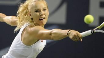 Caroline Wozniacki siegte in New Haven