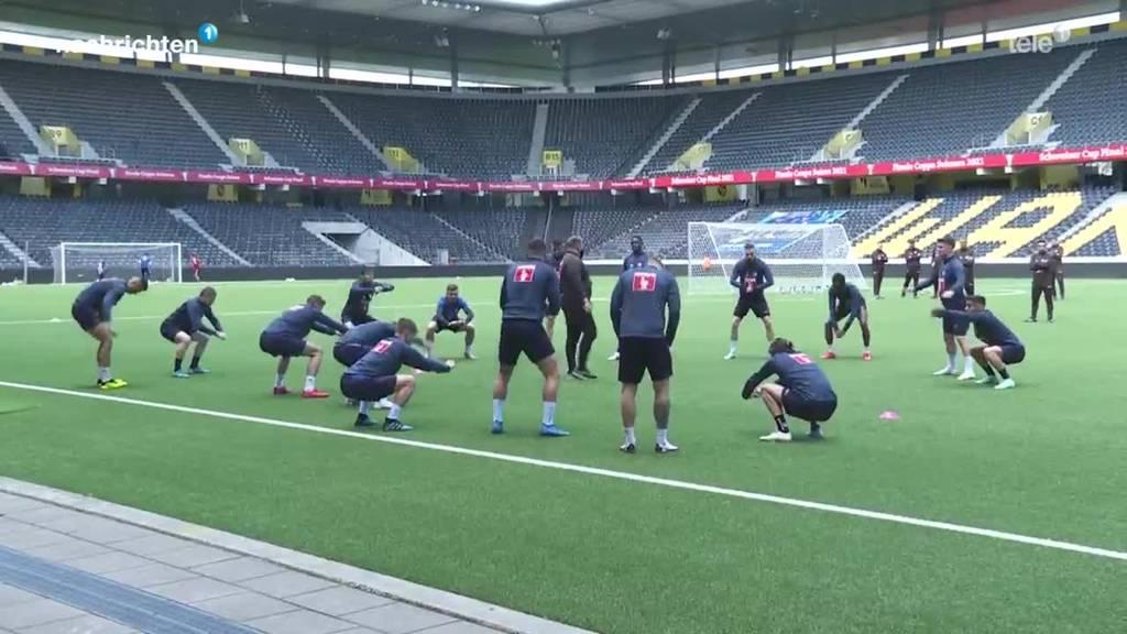 Der FC Luzern einen Tag vor dem Cupfinal