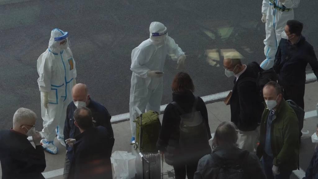 WHO-Experten in Wuhan eingetroffen - Zwei durften nicht einreisen