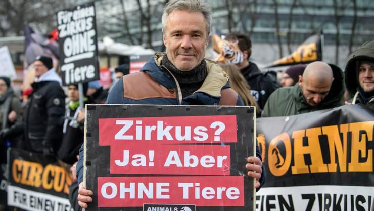 Schauspieler und Umweltaktivist Hannes Jaenicke will im Zirkus keine Tiere mehr sehen.