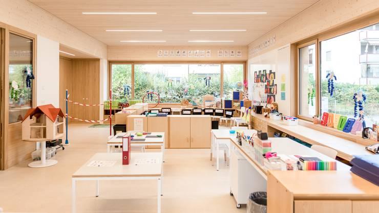 Am Dienstagabend wurde der neue Doppelkindergarten Steinmürli eingeweiht.
