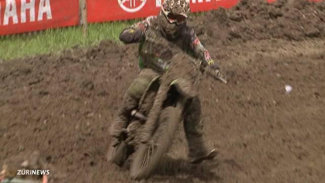 Matschiges Motocross