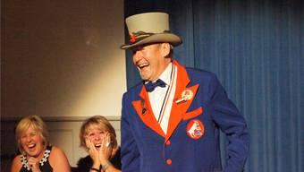 Gross ist die Freude beim frisch gewählten Fasnachtsoberhaupt, dem bald 70-jährigen Stetter.