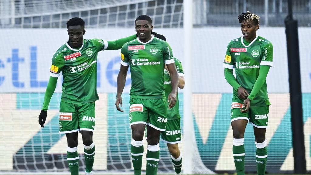 FC St.Gallen zeigt YB den Meister – Das sind die Spielernoten