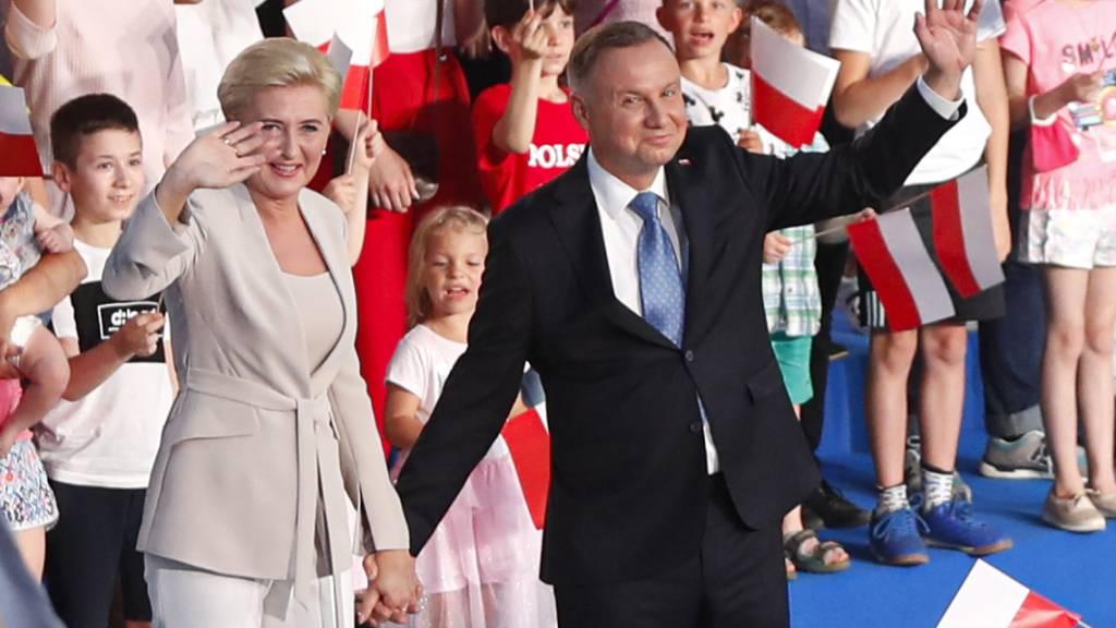 Neue Prognose nach Präsidentenwahl: Rund 43 Prozent für Duda