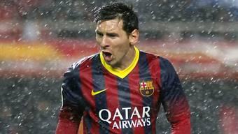 Lionel Messi mit Doublette gegen Sevilla