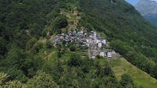 Das kleinste Dorf der Schweiz wird zu einem Hotel