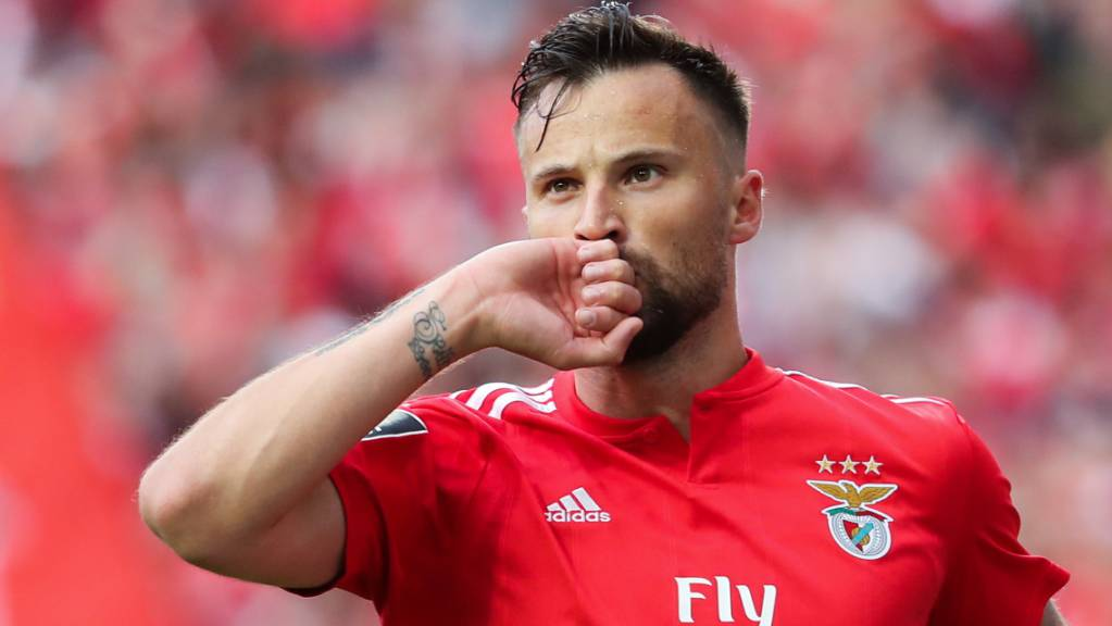 Haris Seferovic schiesst Benfica Lissabon in den Cup-Halbfinal