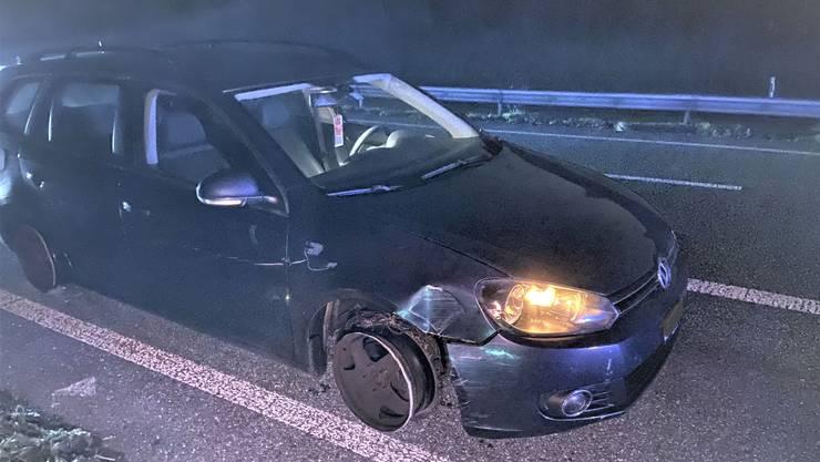 Mit diesem Auto fiel ein 43-Jähriger auf der Autobahn bei Suhr auf.