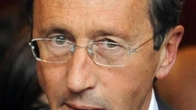 Gianfranco Fini unter Betrugsverdacht (Archiv)