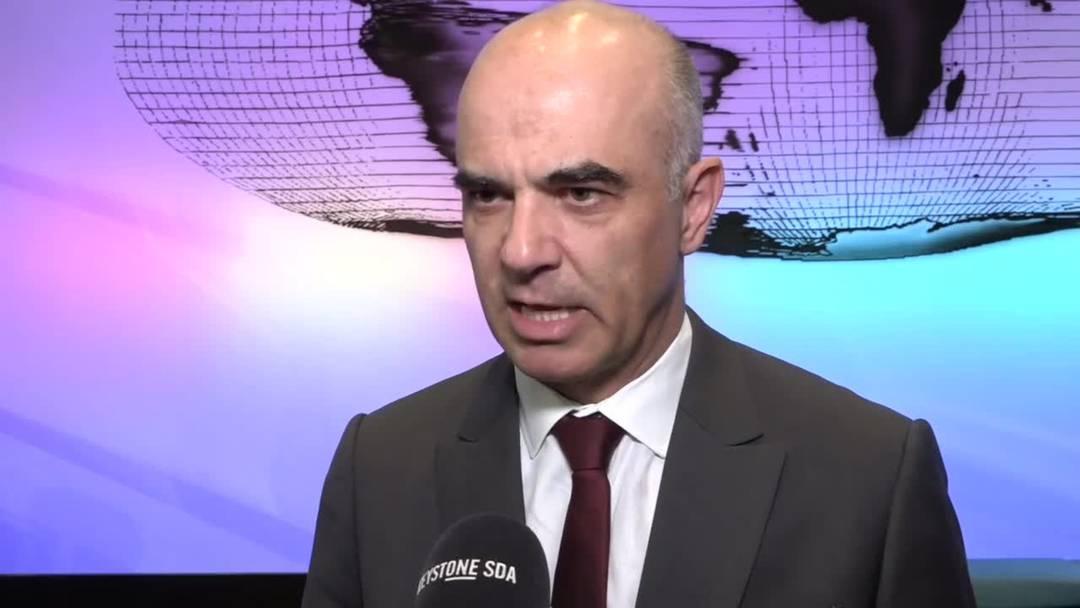 Alain Berset: «Es braucht immer wieder AHV-Reformen»