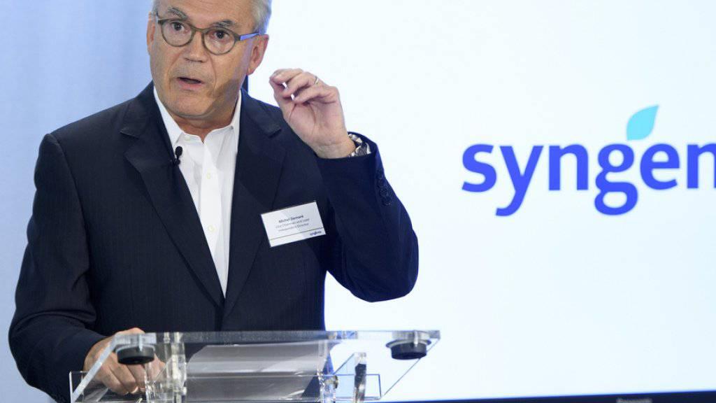 Michel Demaré verlässt Syngenta nach fünfjähriger Tätigkeit. (Archiv)