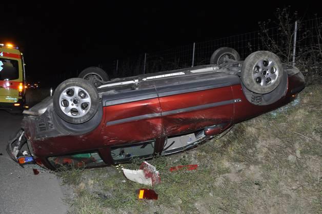 Bei dem Unfall wurde eine Person verletzt.