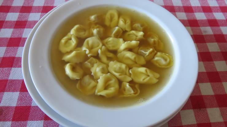 In Italien wird man auch kulinarisch verwöhnt.