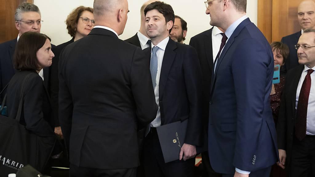 Grenzen zwischen Italien und den Nachbarländern bleiben offen