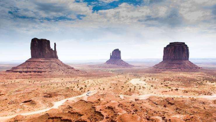 Im Monument Valley beuteten amerikanische Firmen Uran aus, in der Nähe des Siedlungsgebiets der Navajo-Indianer.