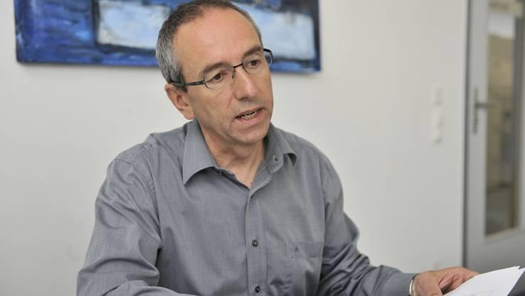 Pensionskassen-Kommissionspräsident Kurt Boner.