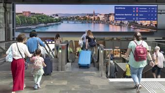 Bahnhof SBB / Kundenführung