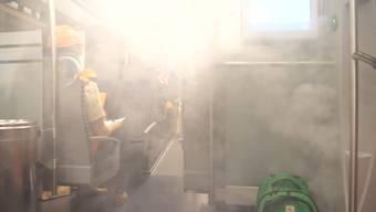 Und was, wenn es brennt? So probten die SBB den Feueralarm im neuen Ceneri-Tunnel