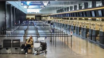 Leere am Flughafen Zürich, Corona-Krise 24. März 2020