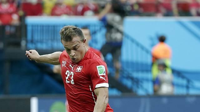 Einer der treffsicheren Bayern-Spieler an der WM: Xherdan Shaqiri
