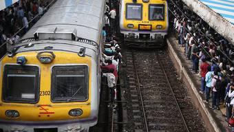 ABB liefert Antriebstechnik für Züge in Indien. (Symbolbild)