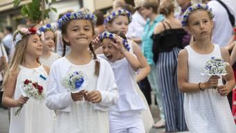 Jugendfest und Rutenzug Brugg 2019