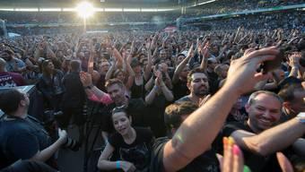 Depeche Mode spielen im Berner Stade de Suisse