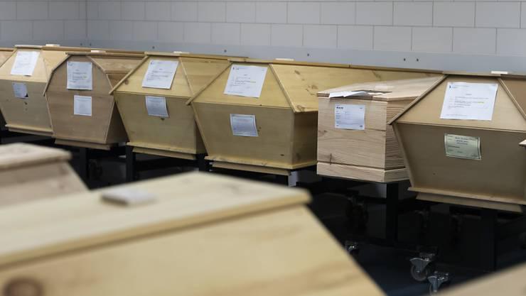 Wegen zu vieler Toten hat Mailand das Krematorium vorübergehend geschlossen. (Symbolbild)