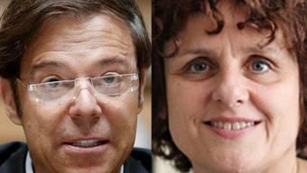 Er dementiert, sie bestätigt: Mörgeli und Ritzmann sollen ein Paar gewesen sein.