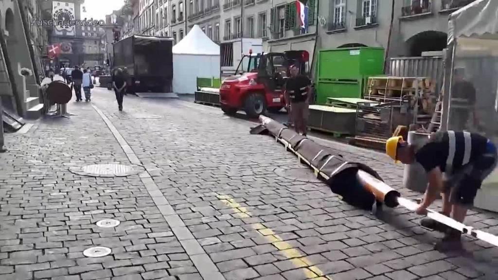 Formel E verärgert Gewerbler in der Altstadt