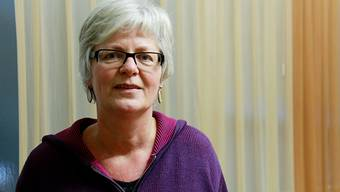 Christine Meier, die Leiterin des Berner Frauenhauses.  Sat