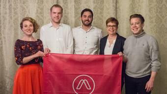 Sie werden durch Arbeit Aargau unterstützt: Irène Kälin (Grüne), Adrian Bircher (GLP), Cédric Wermuth (SP), Ruth Müri (Grüne), Florian Vock (SP).