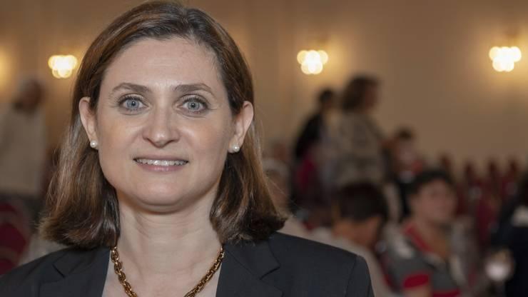 Gianna Hablützel-Bürki kandidierte 2019 erfolglos für den Ständerat. Die frühere Spitzenfechterin gewann sowohl im Einzel wie mit dem Team die Silbermedaille gewann an den Olympischen Spielen 2000.