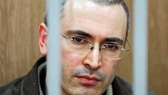 Michail Chodorkowski wurde 2005 zu einer achtjährigen Haftstrafe verurteilt (Archiv)