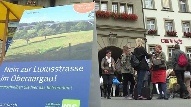 Referendum gegen Umfahrung Oberaargau