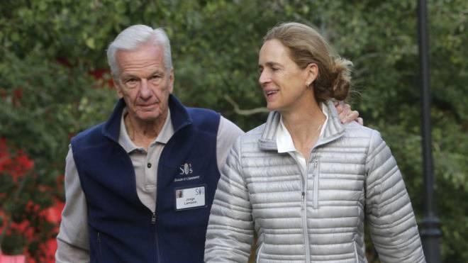 Einflussreiches Paar: Susanna Mally Lemann (mit Ehemann Jorge Paulo). Foto: Keystone/Gombert