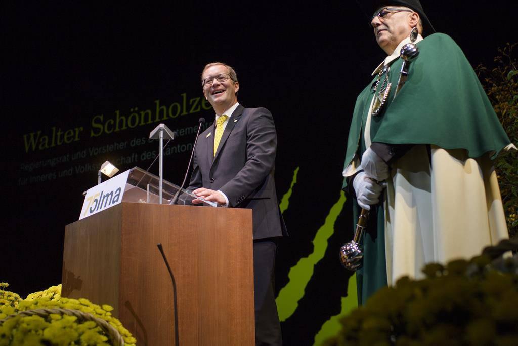 Thurgauer Regierungsrat Walter Schönholzer (FDP) (© Keystone/Gian Ehrenzeller)