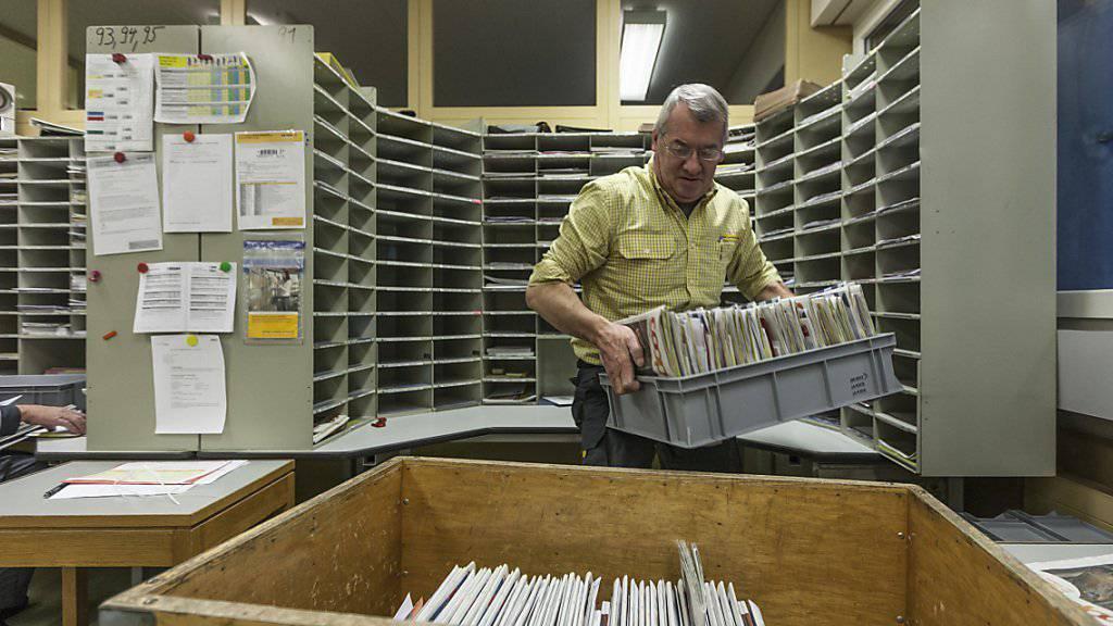 Die Post soll das Restmonopol auf Briefen bis 50 Gramm behalten. (Archivbild)
