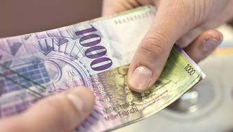 Das Geld im Ausgleichstopf für den Aargauer Finanzausgleich schwindet wohl bald unter das gesetzliche Minimum. (Symbolbild)