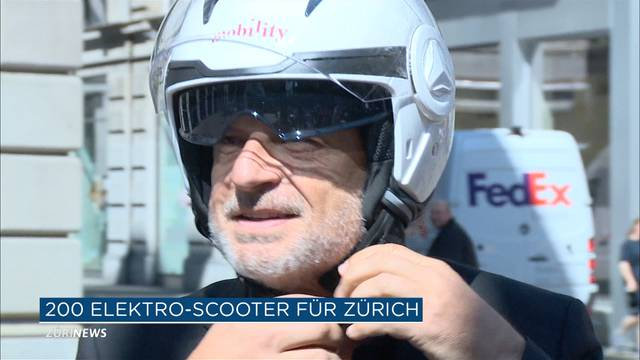 Mobility Scooter in Zürich