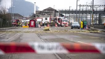 Explosion 2016 bei der Rohner AG
