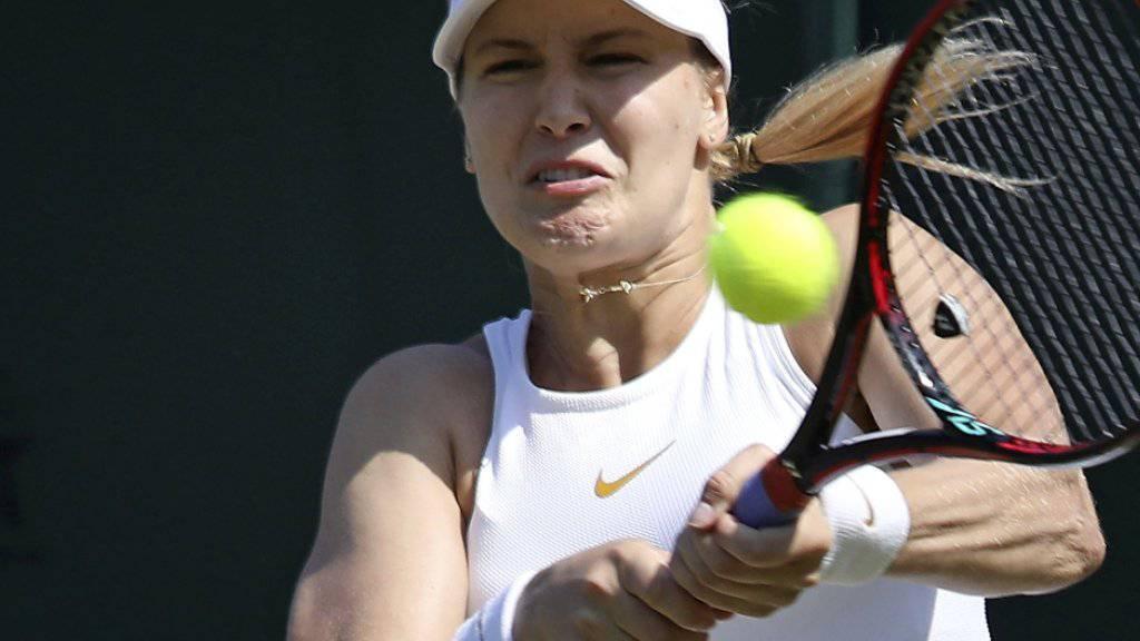 Die Kanadierin Eugenie Bouchard ist am WTA-Turnier in Gstaad am Start