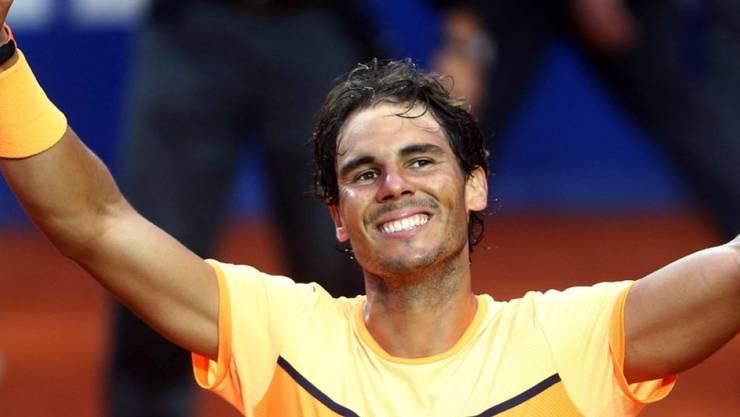 Rafael Nadals (Bild), Roger Federers und Stan Wawrinkas Teilnahme an den Swiss Indoors sorgte für einen riesen Run auf die Tickets.