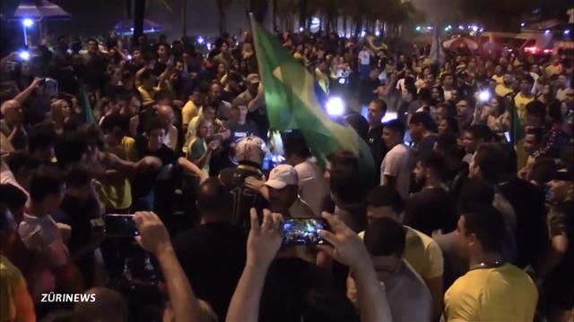 Jair Bolsonaro gewinnt Runde 1 der Präsidentschaftswahlen