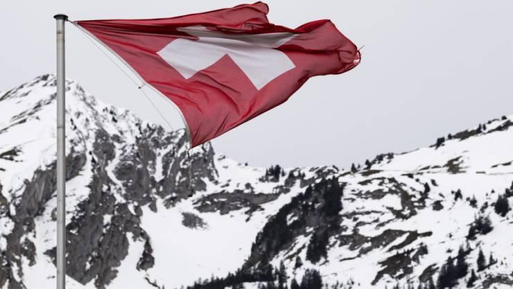 Föhnsturm am 20. Dezember am Col des Mosses im Kanton Waadt. Einzelne Föhntäler der Alpennordseite verzeichneten den mildesten Dezember seit Messbeginn im Jahr 1864. (Archivbild)