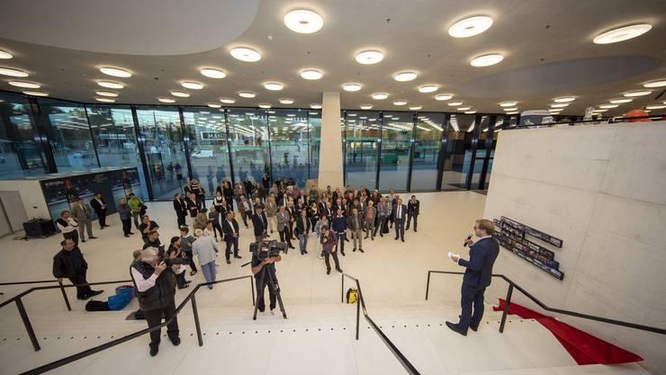 Am Montag wurde die sanierte Joggeli-Halle offiziell eröffnet.