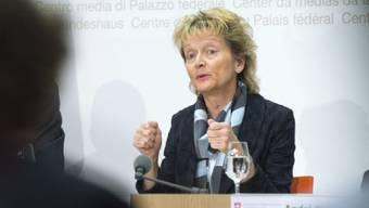 Will Steuerschlupfloch stopfen: BR Eveline Widmer-Schlumpf (Archiv)