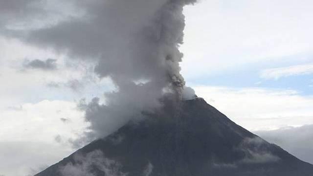 Guatemala: Ausbruch des Tungurahua